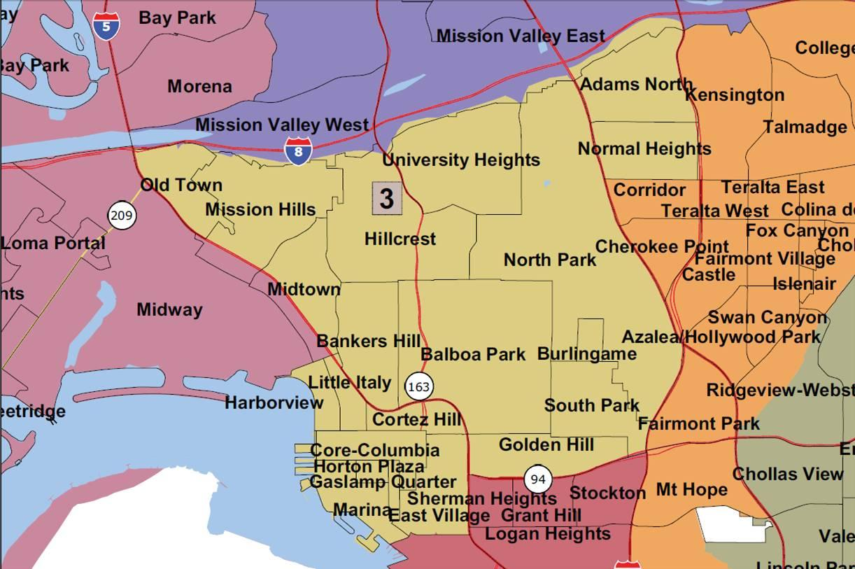 San Diego City Council Redistricting, San Diego Metro Magazine