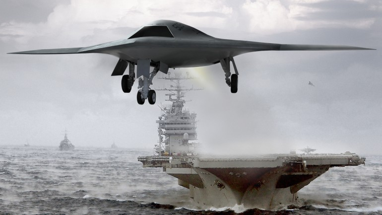 Northrop Grumman's X-47B drone