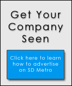 Advertise on SD Metro Magazine
