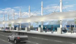 Airport rendering
