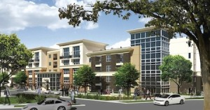 West Park apartments rendering