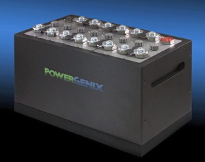 Nickel-zinc battery by PowerGenix