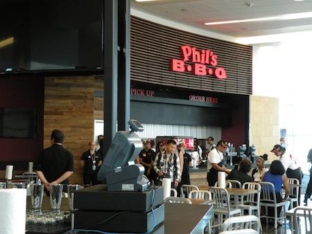 Phil's BBQ at Lindbergh Field