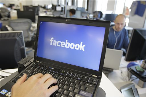 A view inside Facebook headquarters in Menlo Park, Calif. (AP Photo/Paul Sakuma, File)