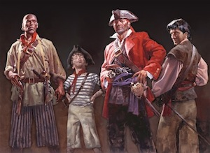 Whydah Pirates depiction