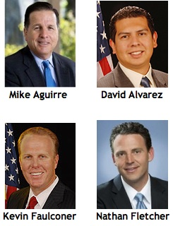 The major candidates for San Diego mayor