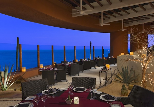 Upscale dining at Arrecifes
