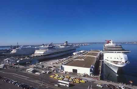 B Street cruise terminal