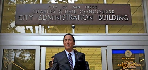 Todd Gloria at City Hall