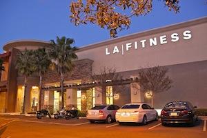 The LA | Fitness building in 4S Ranch