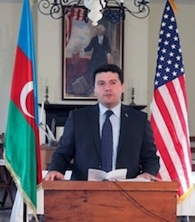 Nasimi Aghayev, Consul General of the Republic of Azerbaijan