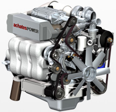 Achates Power Opposed-Piston, Two-Stroke Engine