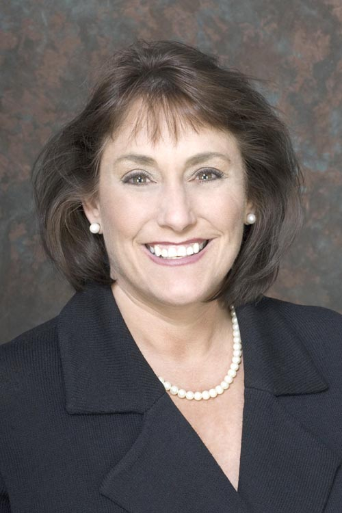 Debra Rosen, president of the San Diego North Chamber of Commerce, developed the Think Local First initiative to strengthen the region's economy.