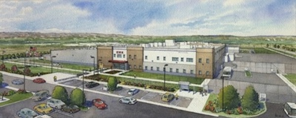 Rendering of correctional facility to be built on Otay Mesa.