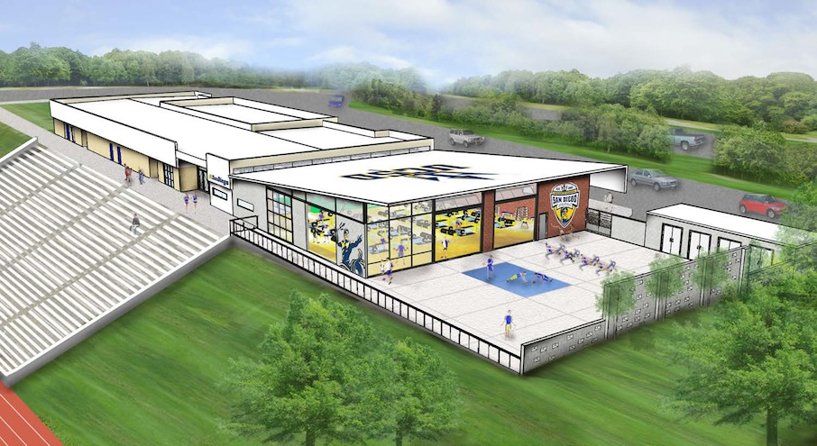 Athletic Performance Center rendering