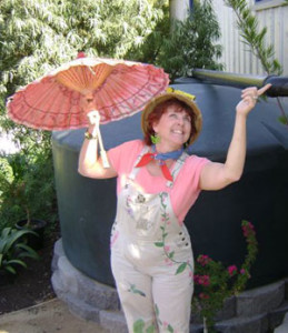 Pam Meisner as 'Ms. Smarty-Plants'