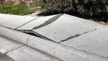 Bad sidewalk