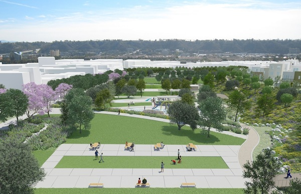 Civita Park rendering