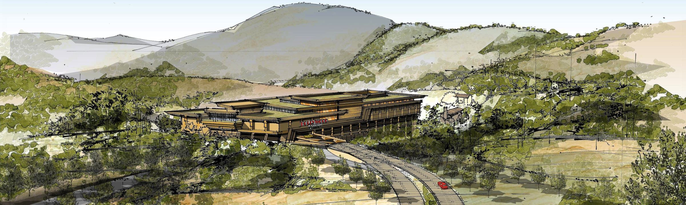 Jamul Casino rendering