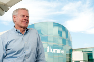 Jay Flatley, CEO of Illumina