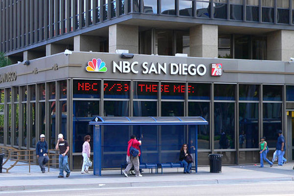 NBC building Downtown San Diego