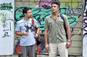 Jaime Camil, right, in 'Los Arboles Mueren de Pie.'