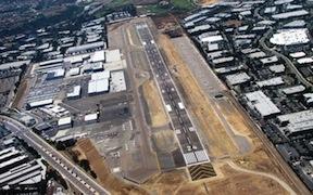 McClellan-Palomar Airport runway.