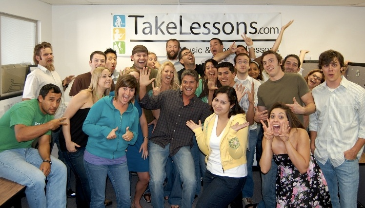 The TakeLessons company