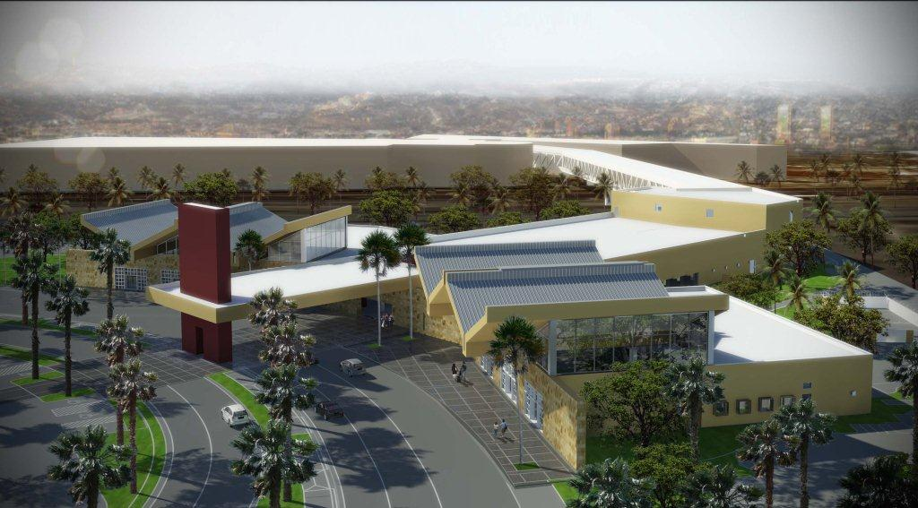 Rendering of the San Diego-Tijuana Airport Cross Border Facility