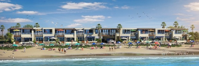 Rendering of condos to be built in Oceanside