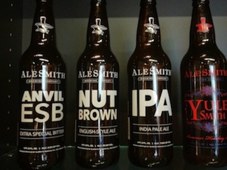 AleSmith Bottles