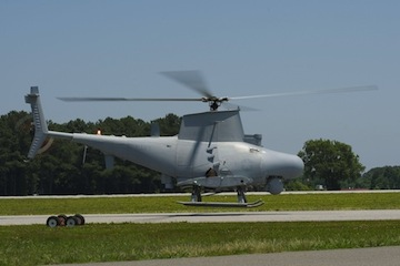 The MQ-8B Fire Scout