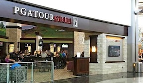 The PGA Tour Grill in Terminal 2 at Lindbergh Field