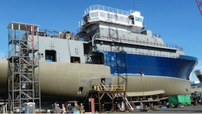 The research vessel Sally Ride will get a new scientific radar.