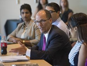 U.S. Labor Secretary Thomas Perez at Grossmont College