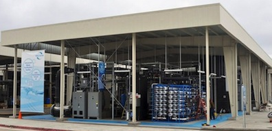 San Diego's Advanced Water Purification Facility in University Towne Center.