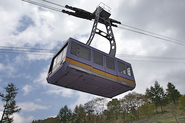 Supervisor Ron Roberts wants to do a feasibility study on an air tram system ,similar to the one seen here, between Downtown San Diego and Balboa Park. (Photo/Wiki Commons)