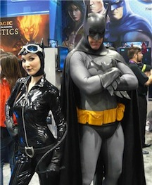 An exceptional Batman and Catwoman