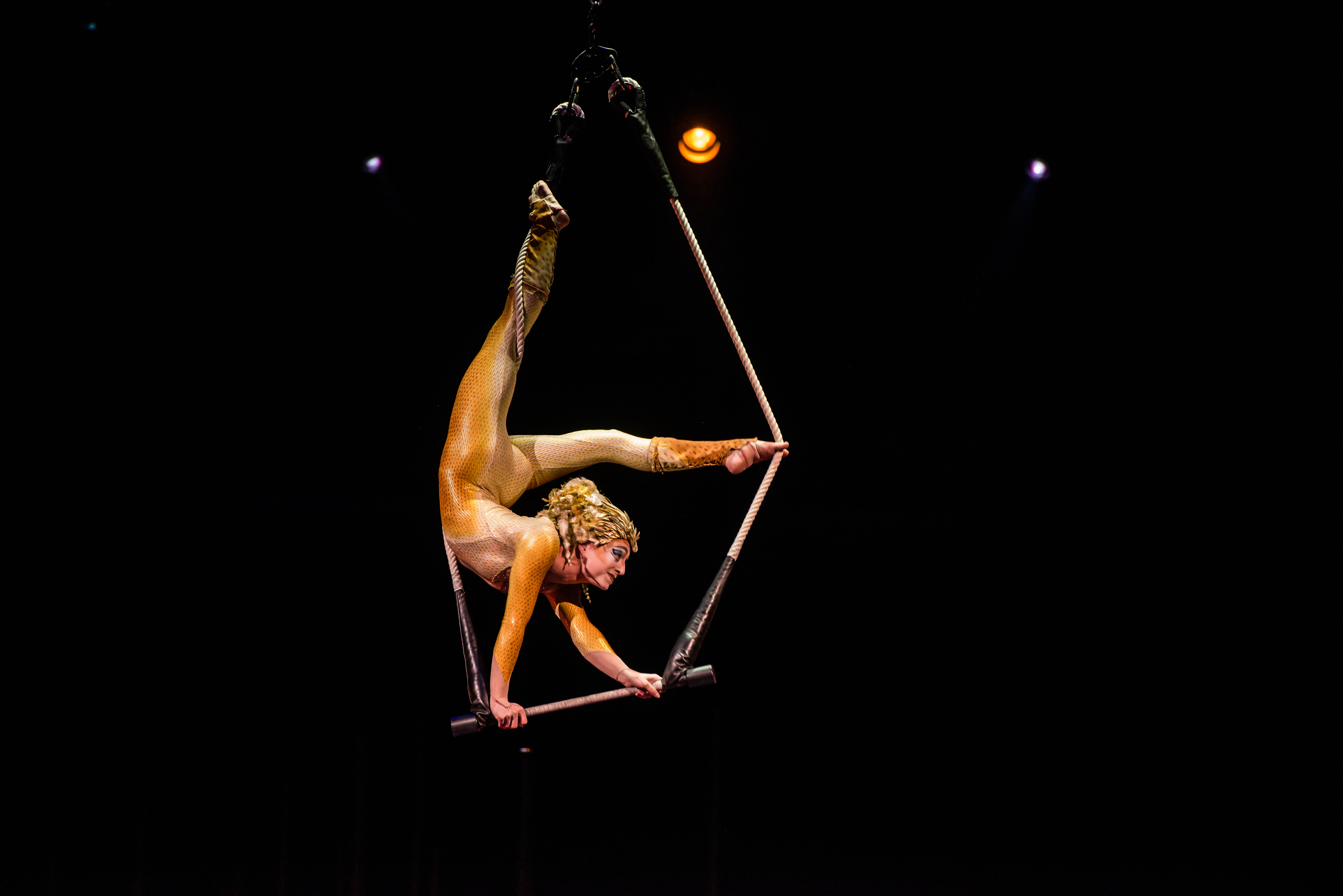 Cirque du Solei performance