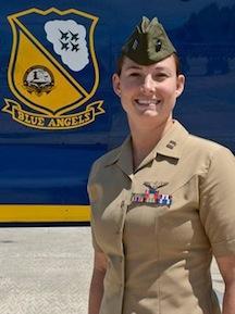 Marine Capt. Katie Higgins