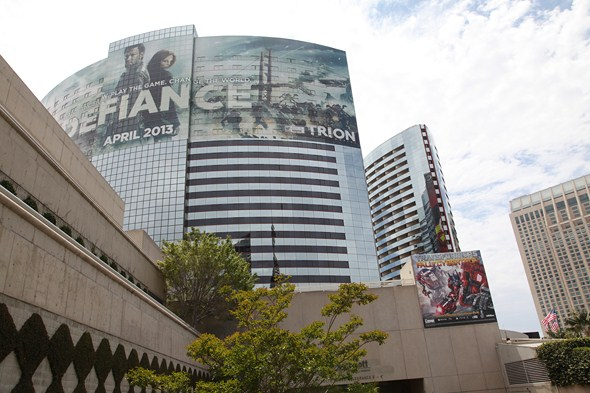 The San Diego Marriott Marquis & Marina was decked out for 2013's Comic-Con.