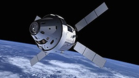 The Orion multi-purpose crew vehicle. (NASA photo)