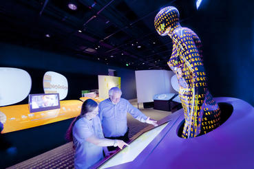 Genome Research exhibit