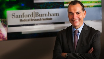 Dr. Perry Nisen, the new chief executive officer of the Sanford-Burnham Medical Research Institute. Photo courtesy Sanford-Burnham