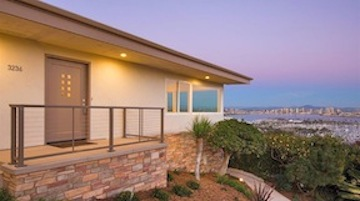 View from a Point Loma home for sale in August.