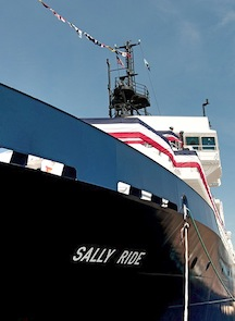 The R/V Sally Ride