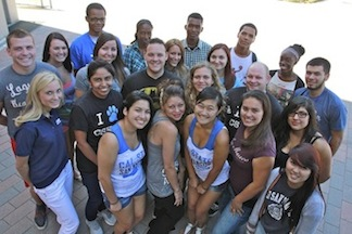 Former foster youth at Cal State San Marcos