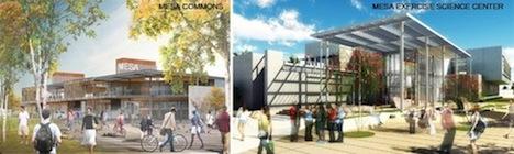 Mesa College renderings