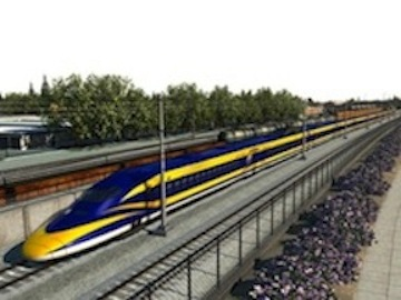 Rendering of High Speed Rail Project