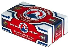 Upper Deck's AHL Hockey box set